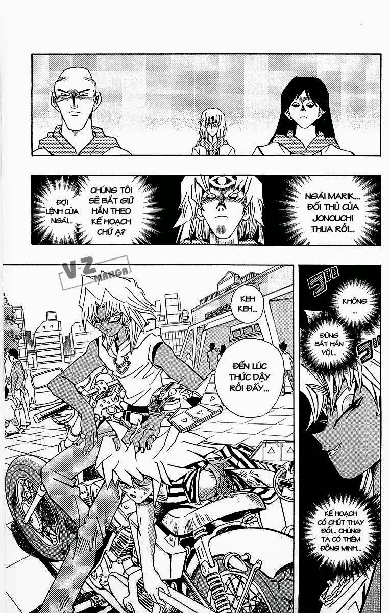 YUGI-OH! chap 183: lý do quyết đấu! trang 12