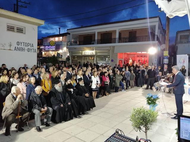 """Πλήθος κόσμου στα εγκαίνια του εκλογικού κέντρου της """"Δυνατής Ερμιονίδας"""" στο Κρανίδι"""
