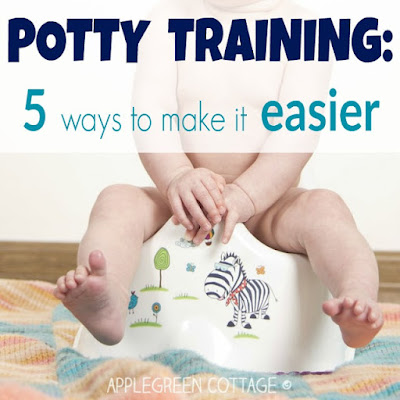 Potty training: 5 ways to make it easier