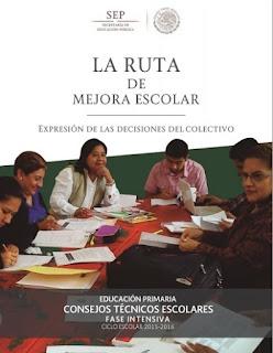 Imagen del Libro Ruta de la mejora escolar Nivel Primaria