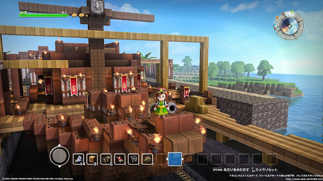 dragonquest builders Shipyard