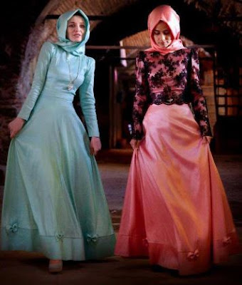 Model gaun muslimah brokat syahrini