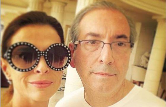 Surrealismo brasileiro: mulher de Eduardo Cunha pode ser presa e ele continuar solto