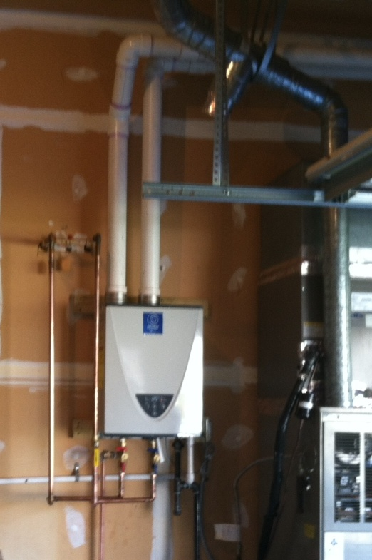 State Tankless Water Heater Install
