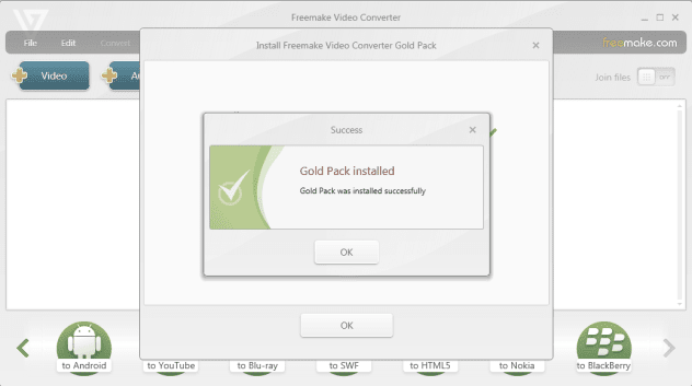 FRANCAIS VIDEO TÉLÉCHARGER FREEMAKE CONVERTER EN