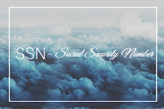 SSN – Social Security Number