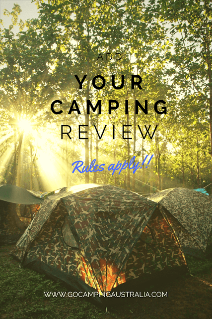 Write up an amazing review of a campsite here in Australia.