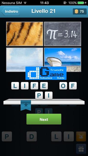 Movie Quiz (Indovinare il film) soluzione livello 21-30