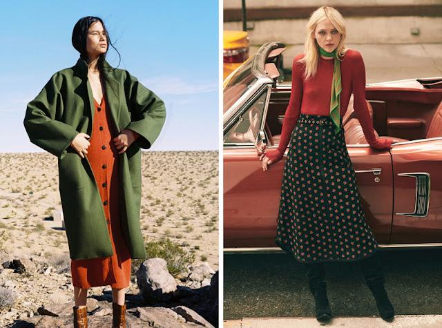 Красный + зеленый в одежде