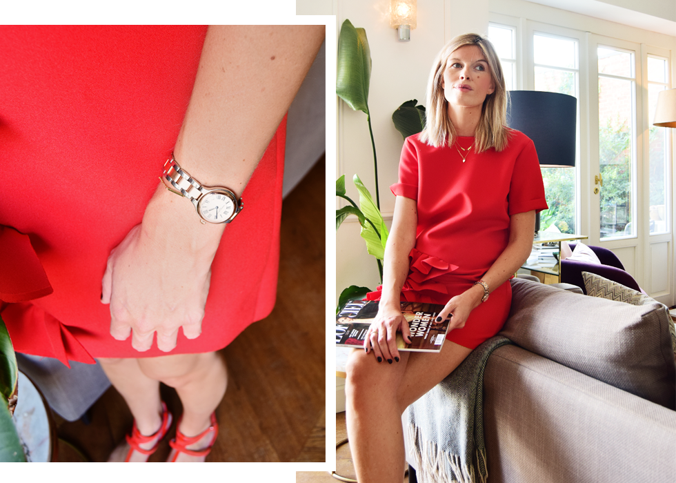 Outfit of the day, MSGM, bettina Vermillon, Frederique Constant, ootd,style, fashion, blogger, style, pregnant, baby bump, maternity