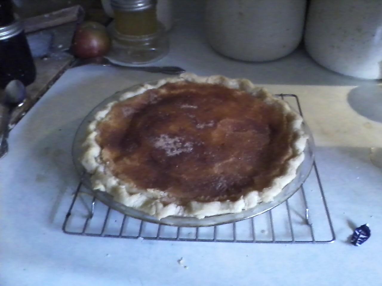 Nick S Kitchen Sugar Cream Pie Recipe