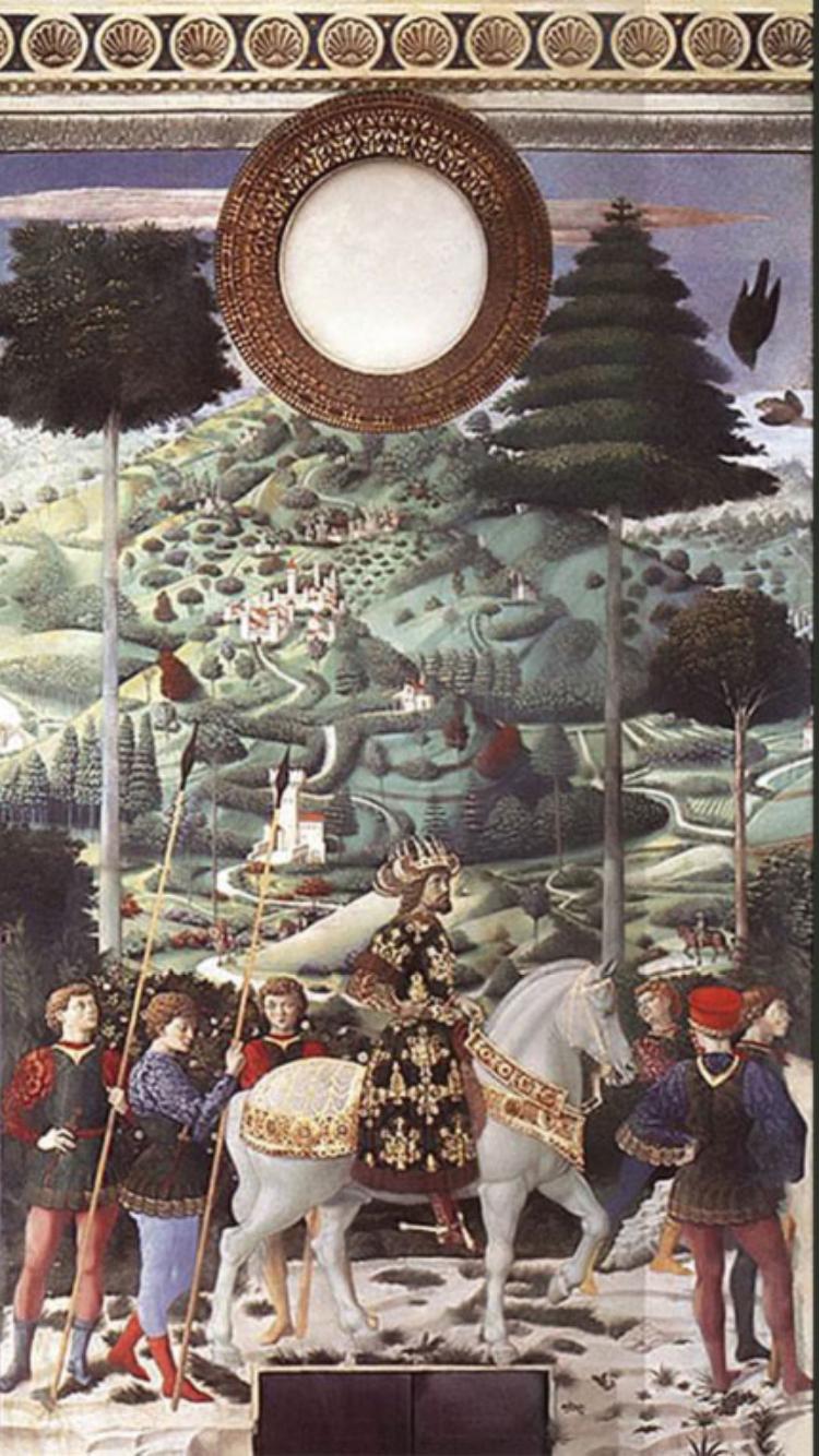Hortus Floridus di Aurora Tazza  Le piante dei Magi a Palazzo Medici Riccardi