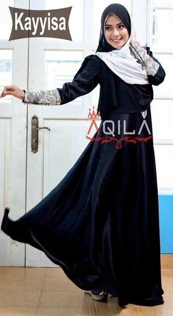 Model baju kerja muslim syar'i terbaik