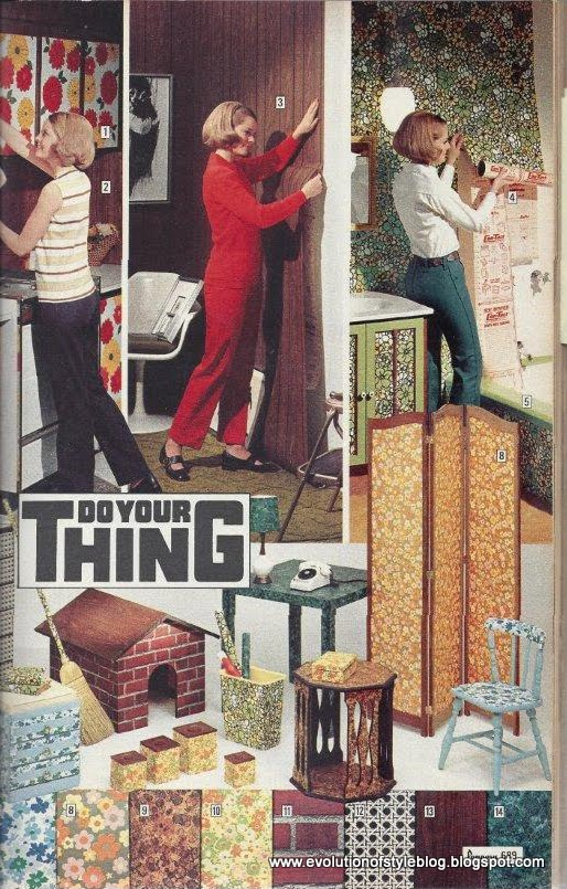Jcpenney Catalog Style 1971 Evolution Of Style