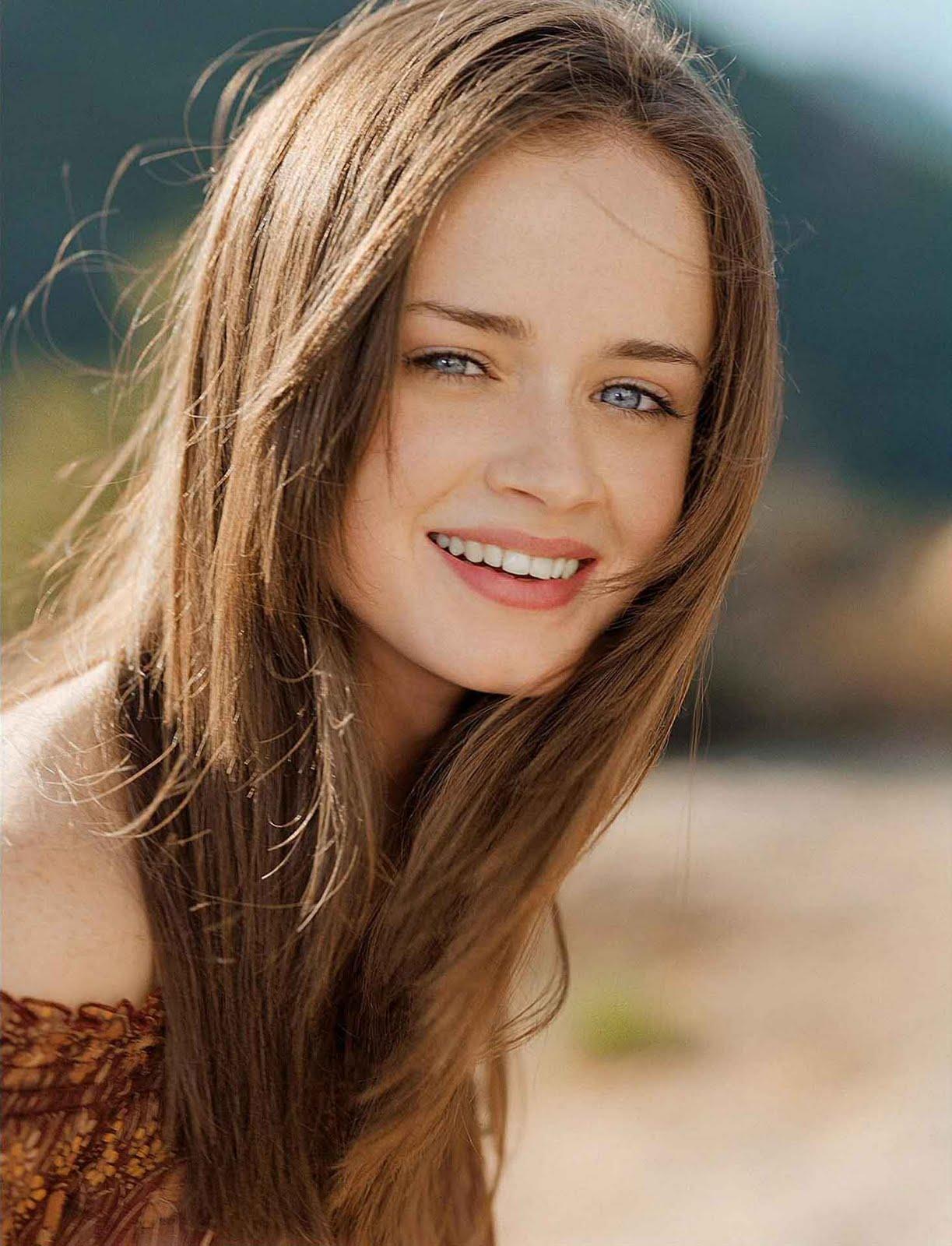 Perfect Girls Alexis Bledel Allure Magazine Photos