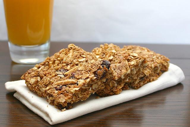 crunchy granola squares