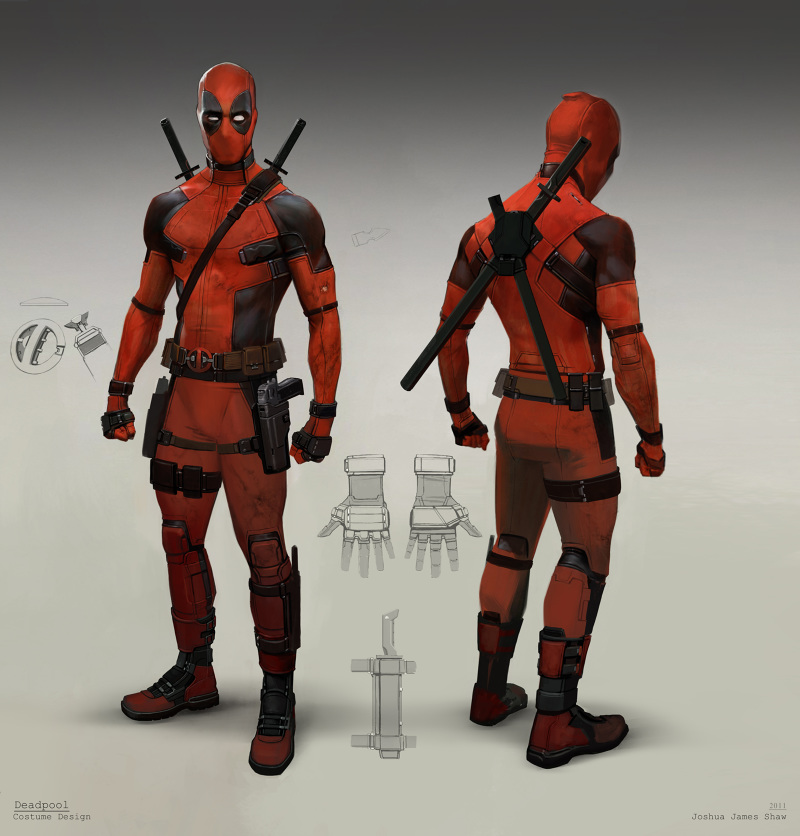 Concept Arts De Deadpool Por Joshua James Shaw