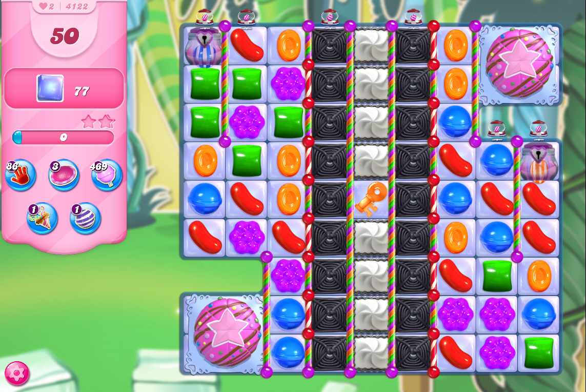 Candy Crush Saga level 4122