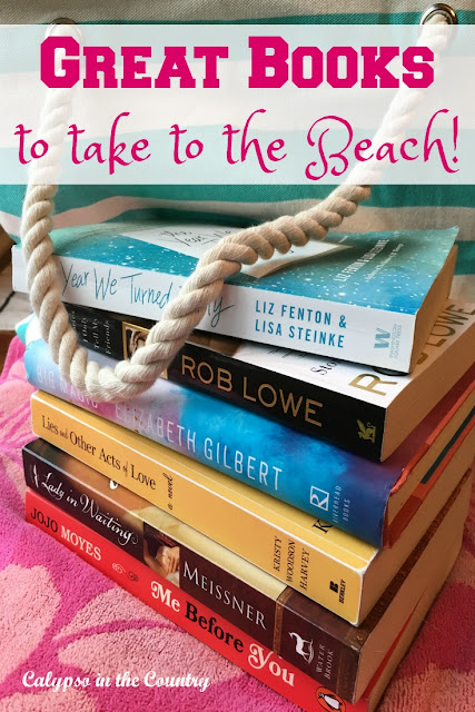 Summer Reading List - Great books to take to the beach or pool!