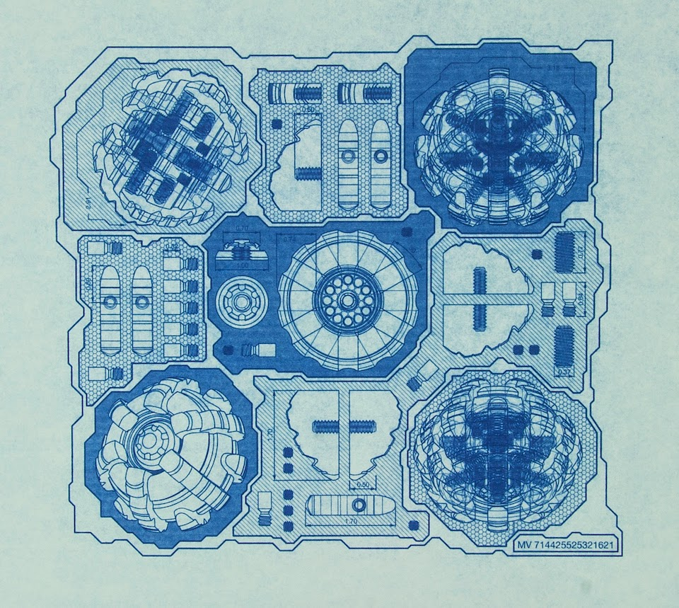 Blueprint, Digital Fabrication, Schematic, CNC Art, CAD Art, CAD/CAM