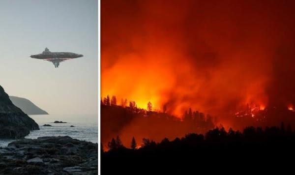 Que esta provocando los incendios forestales en California?