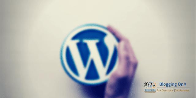 Wordpress-Bloggingqna