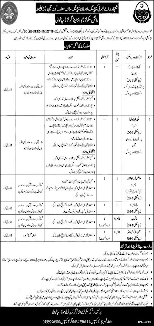Daanish Schools Jobs 2019 By Govt Of Punjab For Teaching Faculty