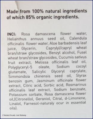 Atlantis Skincare Glowing Skin Toner Ingredients