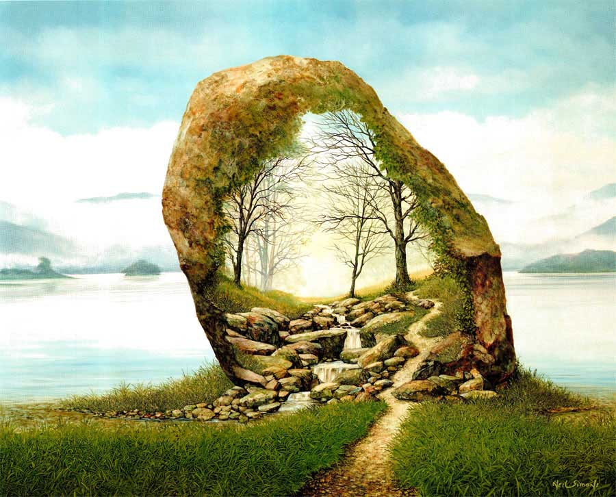 04-Rock-Formation-Neil-Simone-Surreal-Paintings-and-Optical-Illusions-www-designstack-co