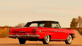 1962 Chrysler 300H Convertible Rear