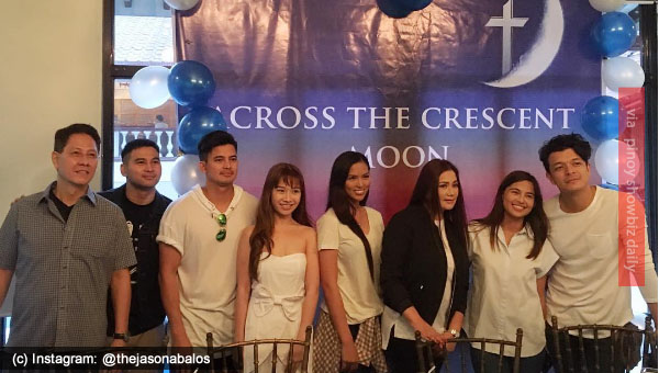 "Jericho Rosales and Jasmine Curtis-Smith to star ""Across the Crescent Moon"" movie"