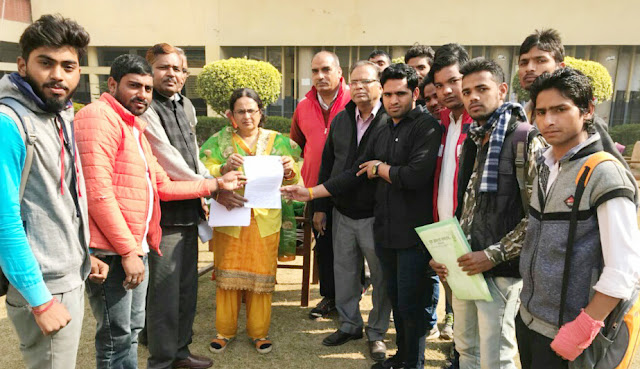 Youth Aagaj will sign memorandum submitted to Nehru College Principal Preta Kaushik, signature campaign starting on Tuesday