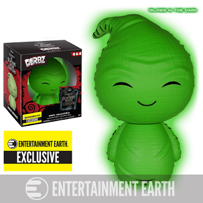 Entertainment Earth Exclusive The Nightmare Before Christmas Glow in the Dark Oogie Boogie Dorbz Vinyl Figure by Funko