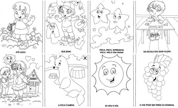 Desenhos Para Colorir Com Mensagens Datas Comemorativas Como Fazer