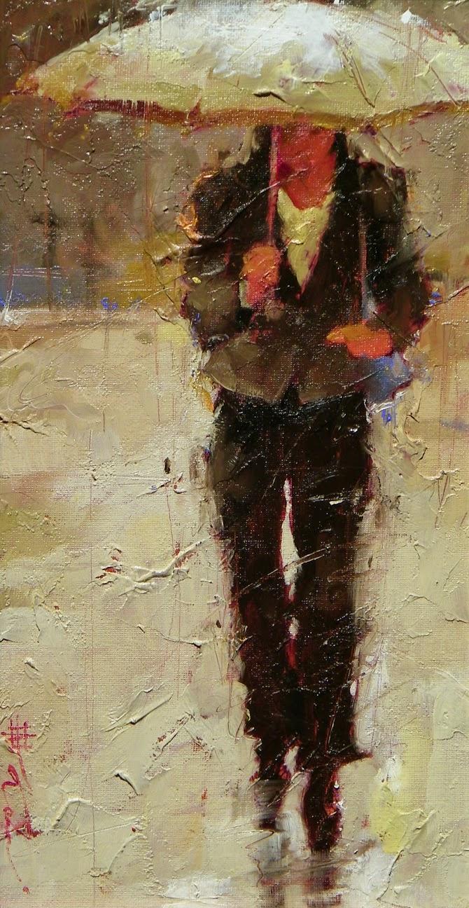 Correndo de Volta - Andre Kohn e suas pinturas - Impressionismo Figurativo