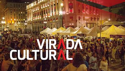 Confira a programação completa da Virada Cultural
