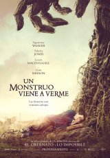 """Carátula del DVD: """"Un monstruo viene a verme"""""""