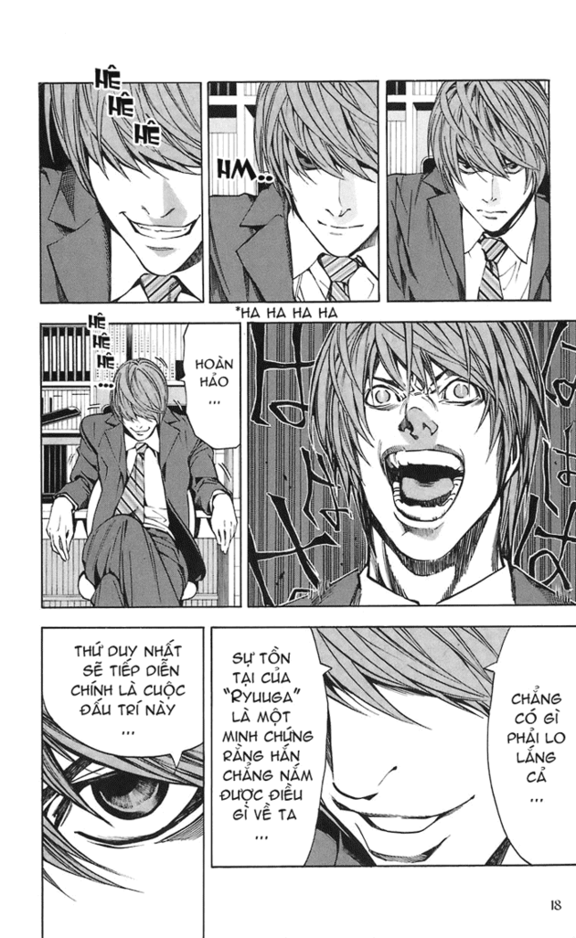 Death Note chapter 019 trang 19