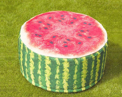 Watermelon Pouf