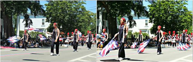 Banda de Canadá Desfile del 4 de Julio en Bristol