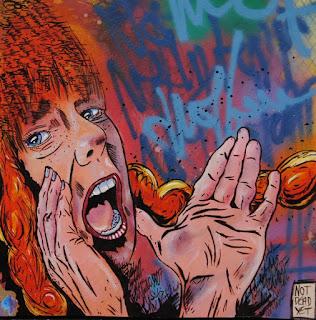 Artwork by Tony Trowbridge Not Dead Yet