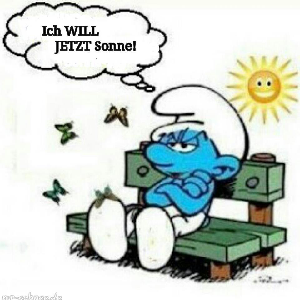 Das Leben ist Bunt: Schönes Wetter, die Sonne lacht
