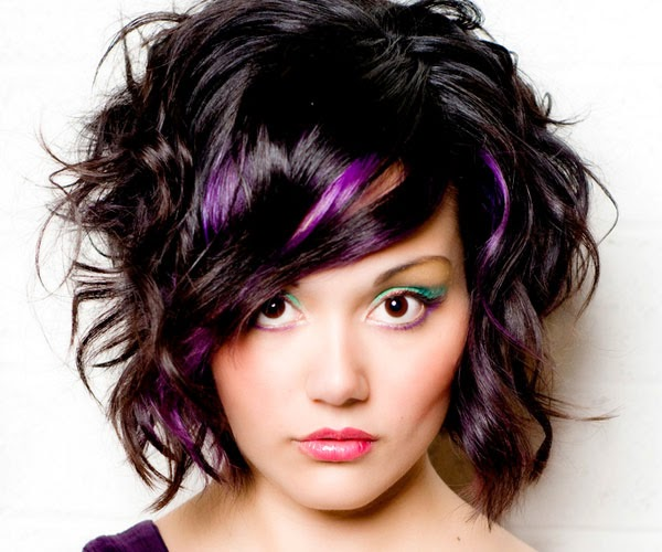 36 Interesting Purple Highlights Hair Color Ideas Hairstylo