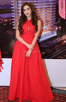 Angela Krislinzki Telugu Actress looks stunning in Red   HD Pics   Exclusive  3.JPG