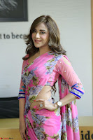 Angela Krislinzki Rogue Movie Fame Telugu Actress in Saree Backless Choli 097.JPG