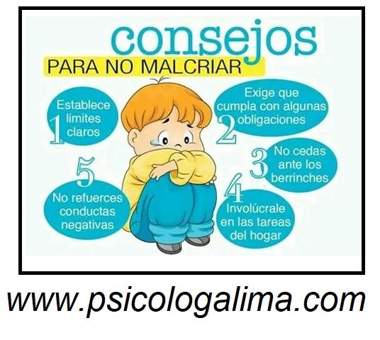 Psicólogos en Lima San borja - Consejos para la crianza de los niños
