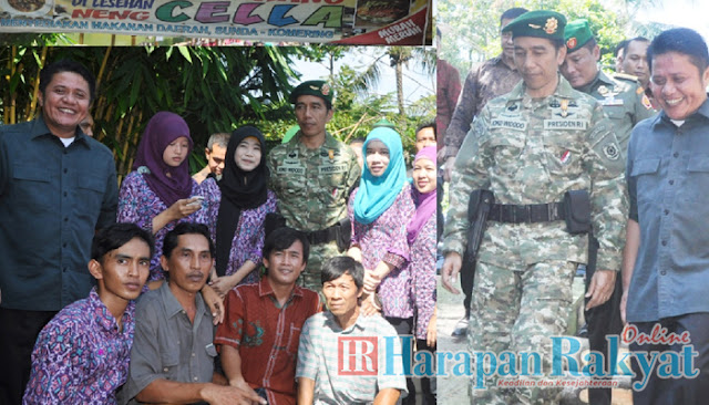 Presiden Joko Widodo Kunjungi Puslatpur Martapura
