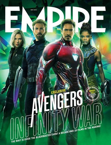 Avengers: Infinity War Black Widow - Captain America - Iron-Man - Shuri