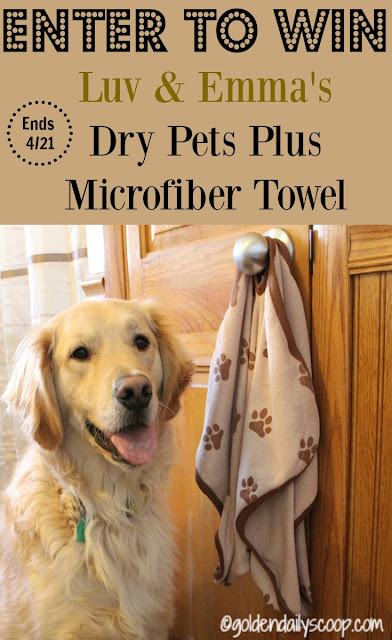 luv and emma's dry pets plus towel giveaway