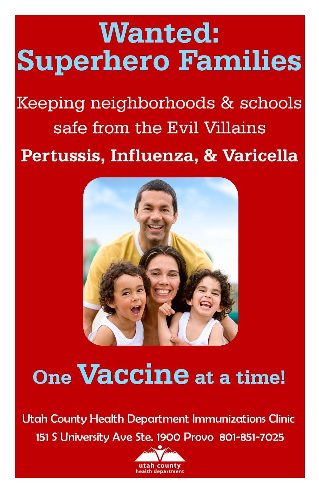 Utah County Health Department Immunization Clinics
